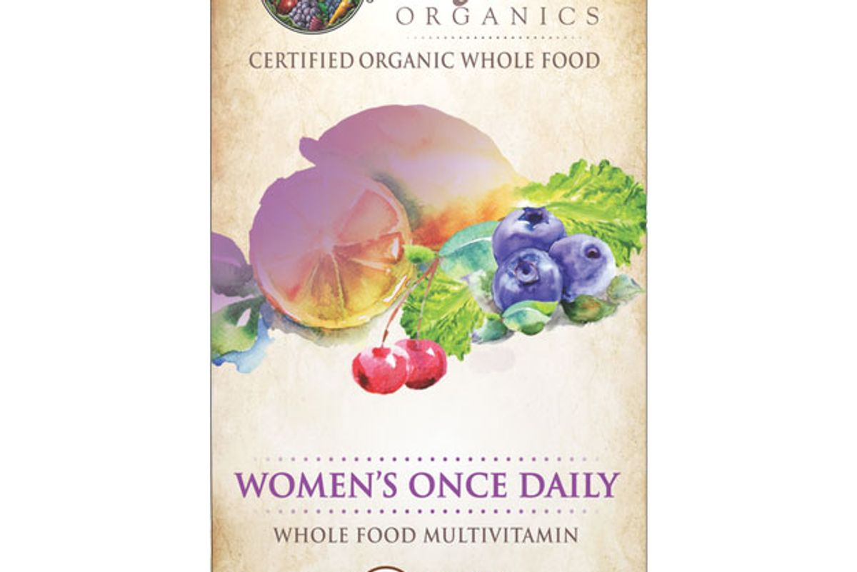 garden of life organic mykind womens once daily tablets