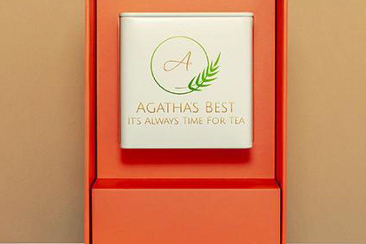 agatha's best mint loose leaf tea