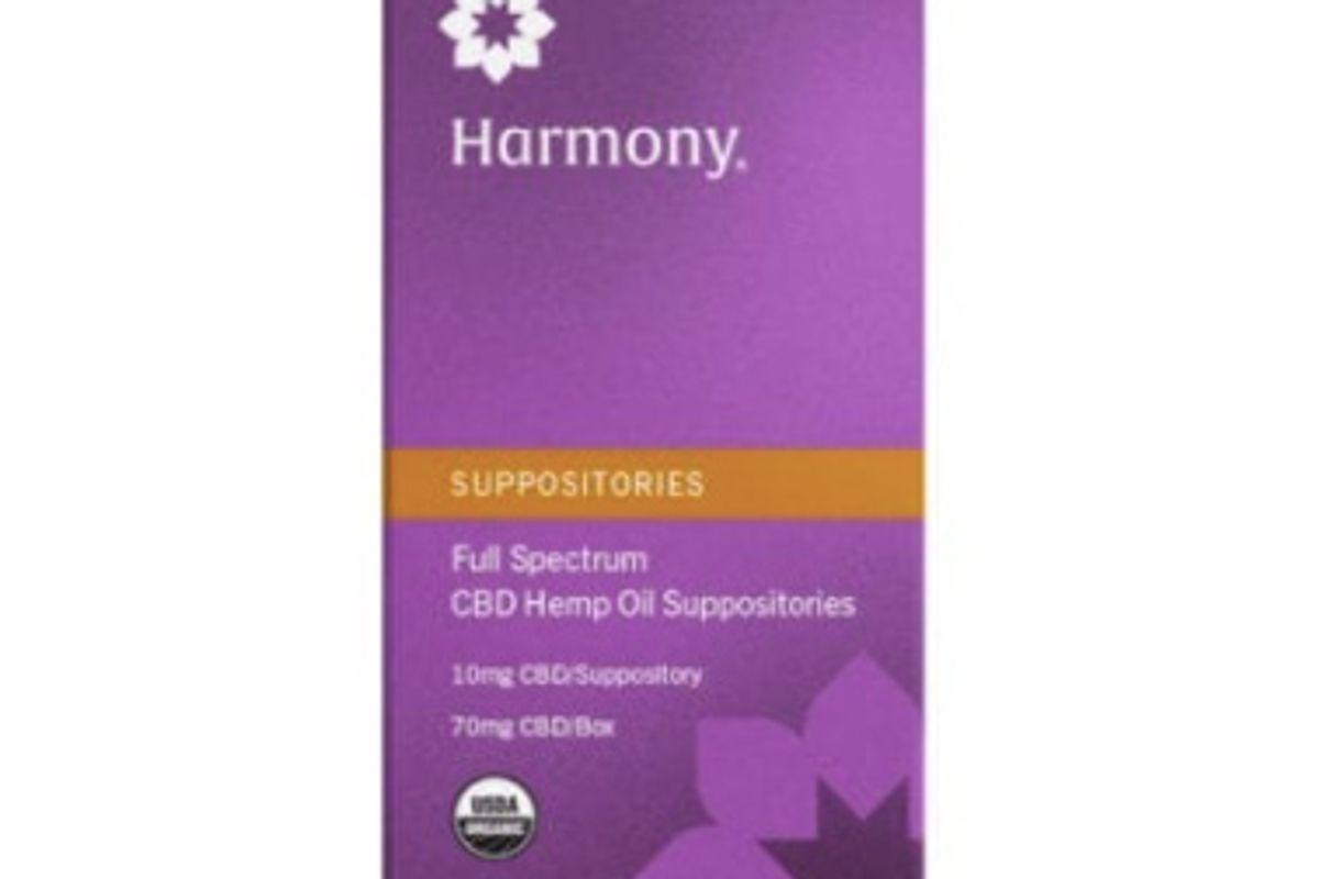 palmetto harmony organic full spectrum suppository