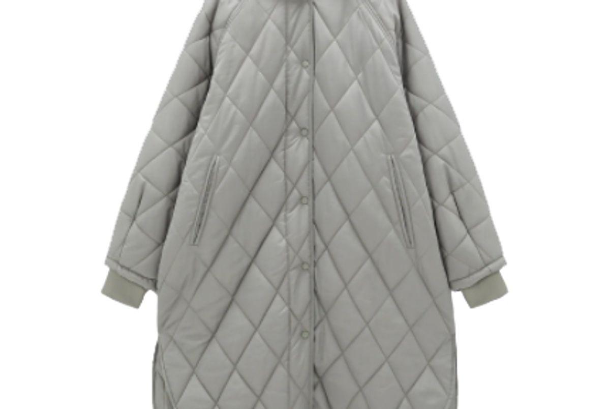 zara oversized puffer coat