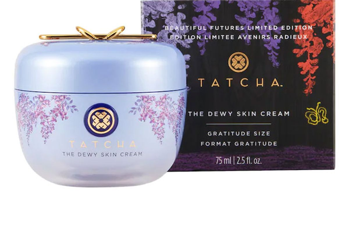 tatcha the dewy skin cream plumping and hydrating moisturizer