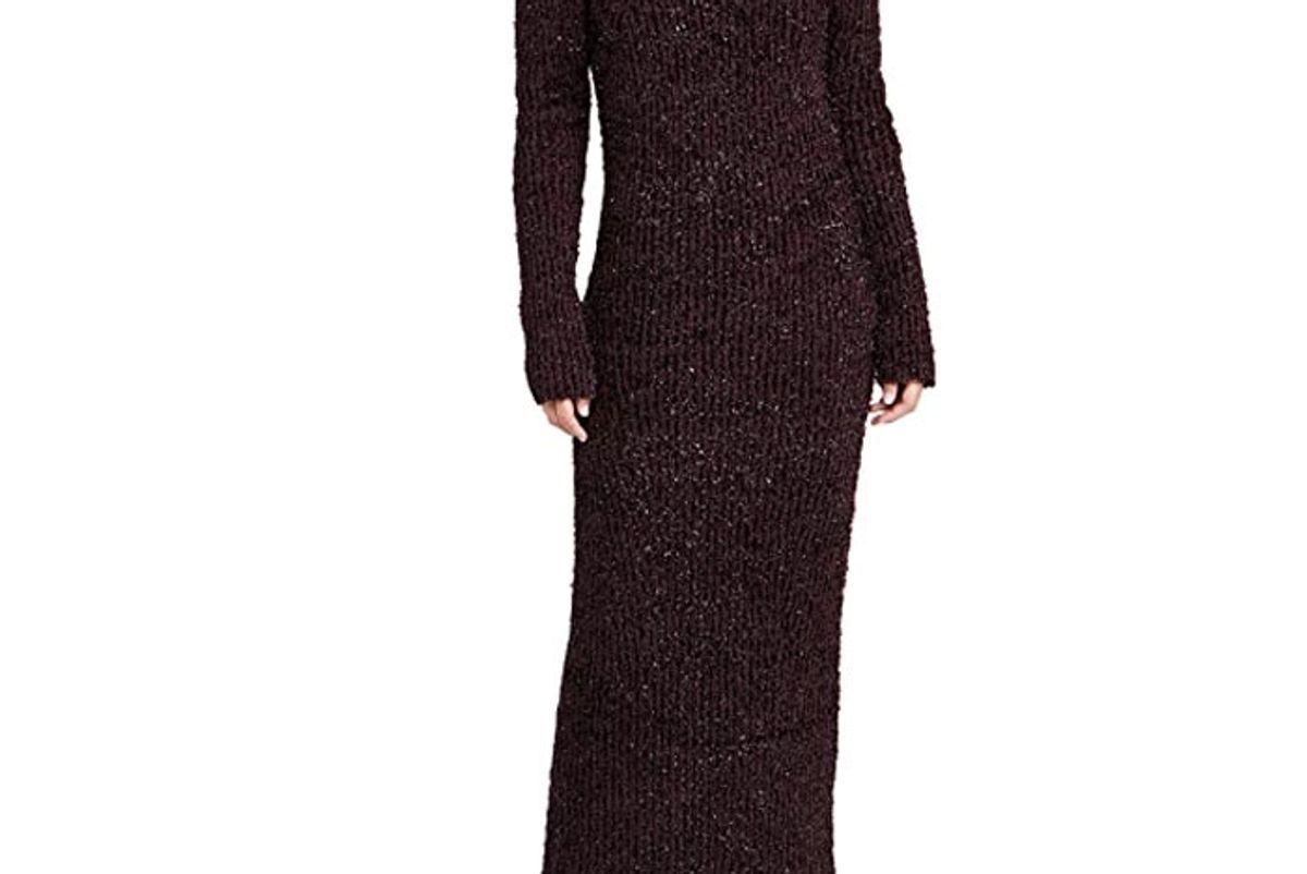 helmut lang turtleneck dress