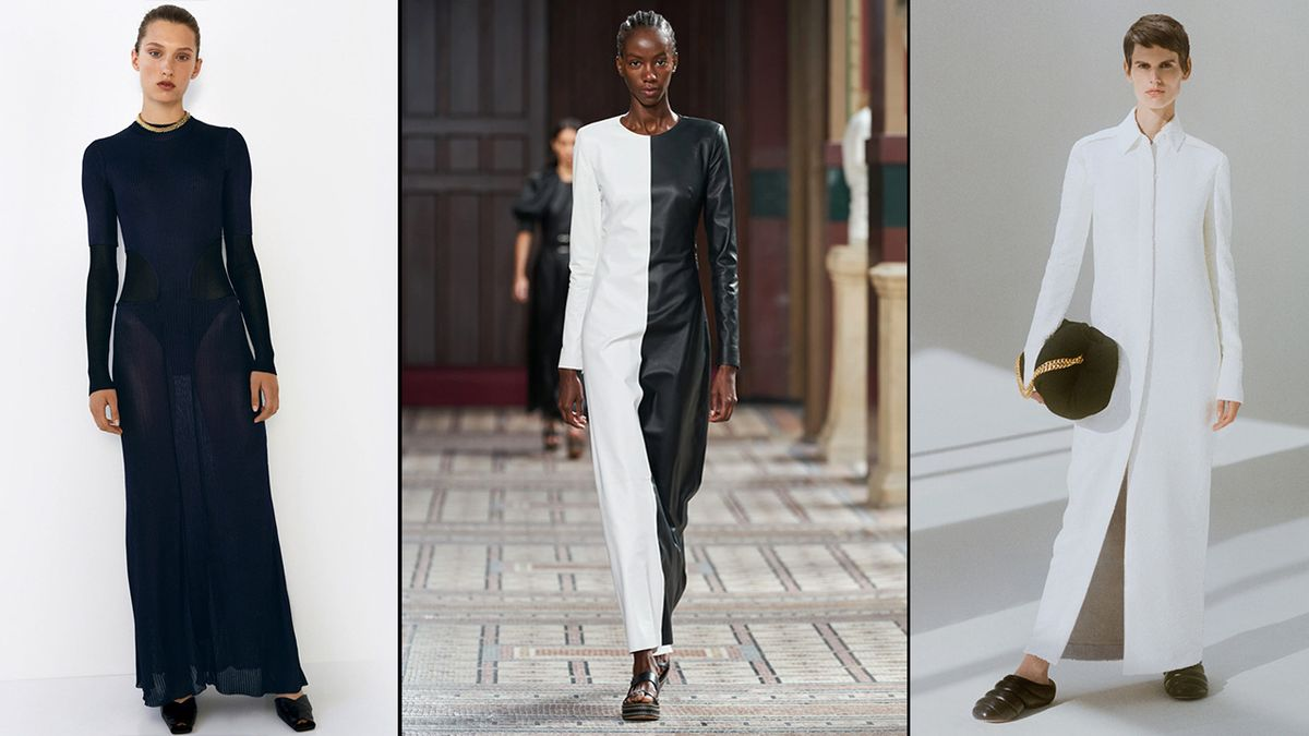 column dress trend