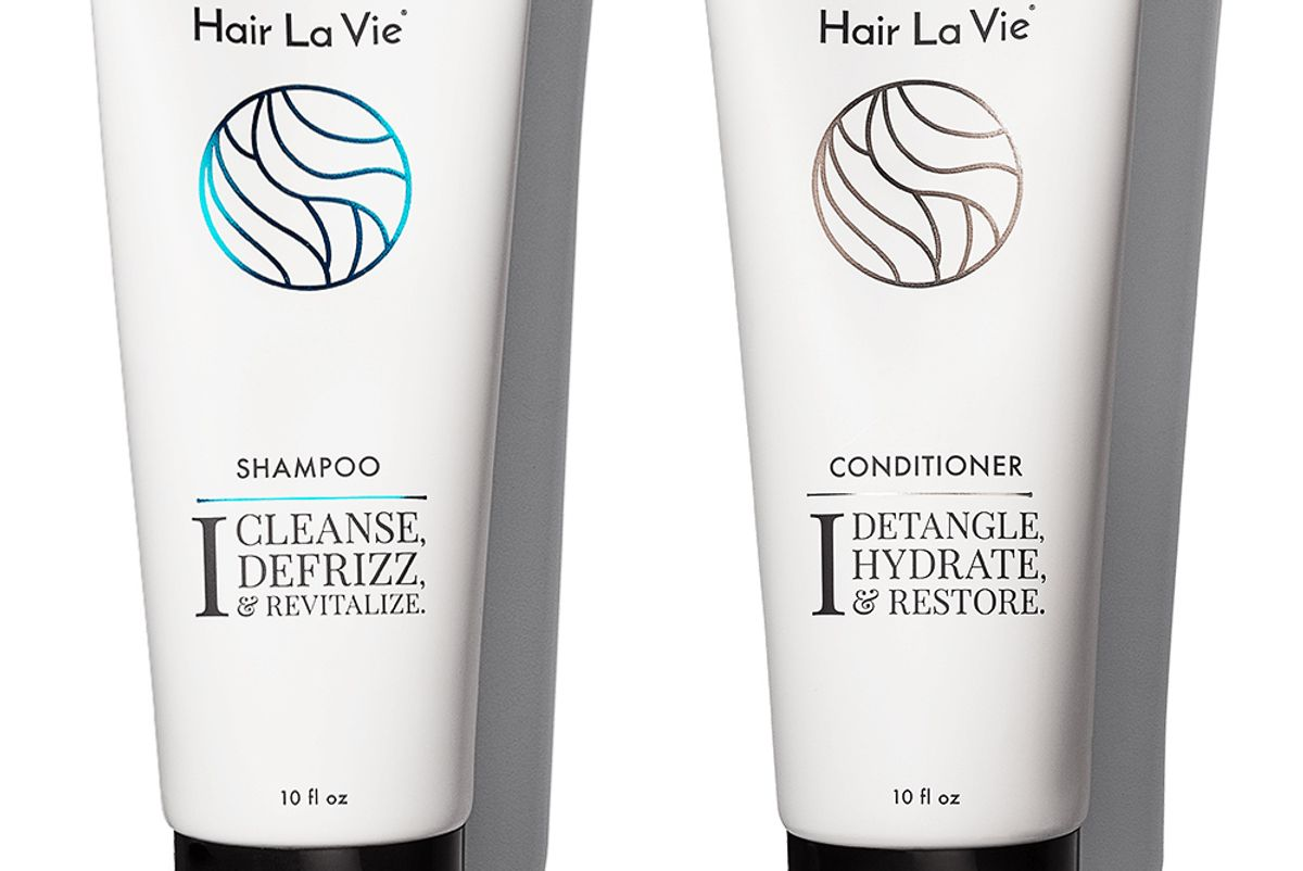 hair la vie shampoo and conditioner set
