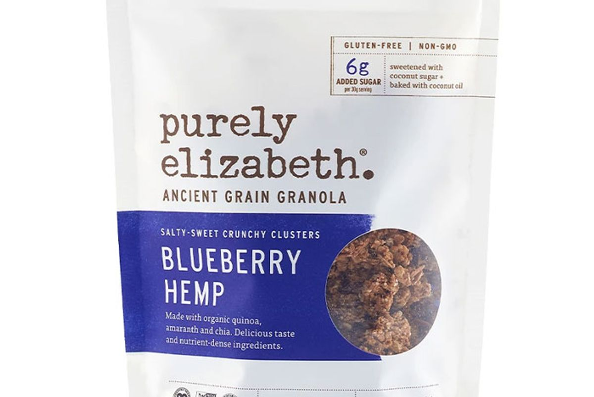 purely elizabeth blueberry hemp ancient grain granola