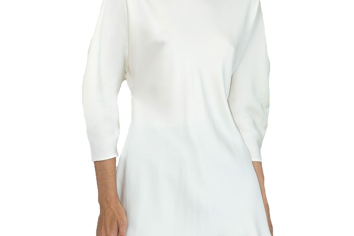 my 812 blouse with stand collar