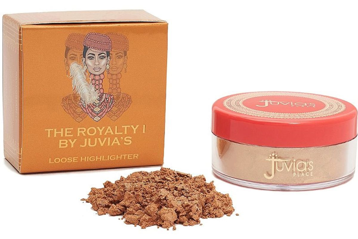 juvias place the royalty glow loose highlighter