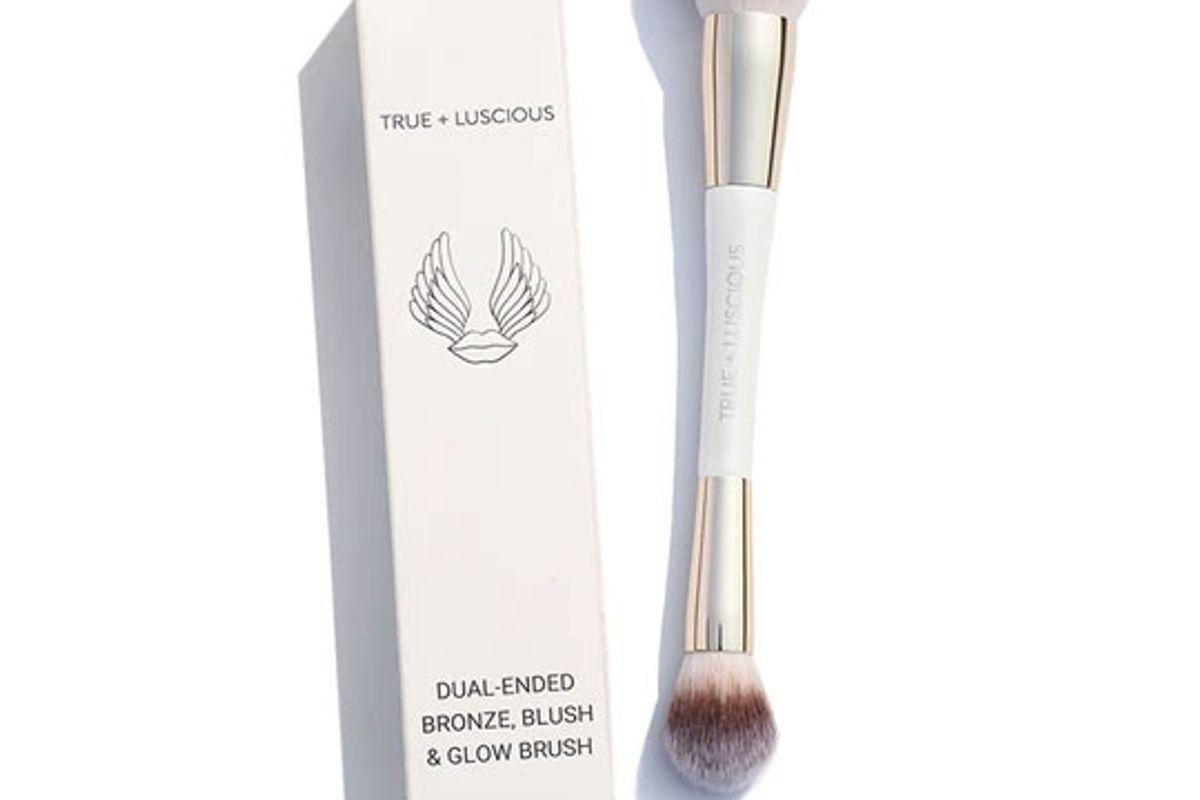 true plus luscious bronze blush and glow brush