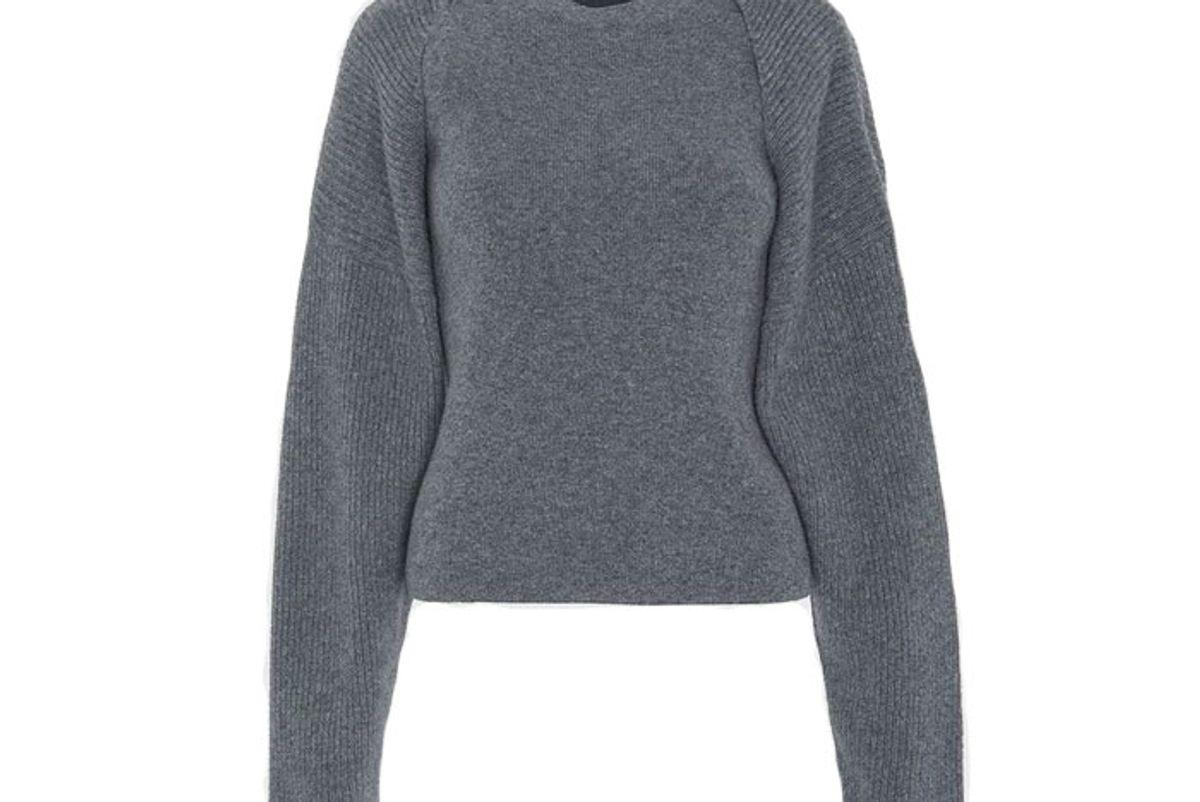 the frankie shop knit shrug set