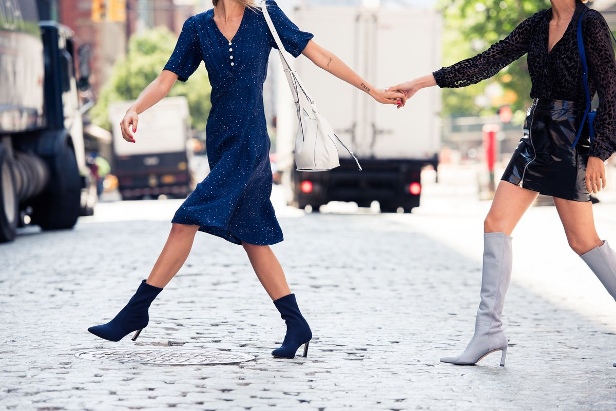 This Fall, Get Dressed Feet-First