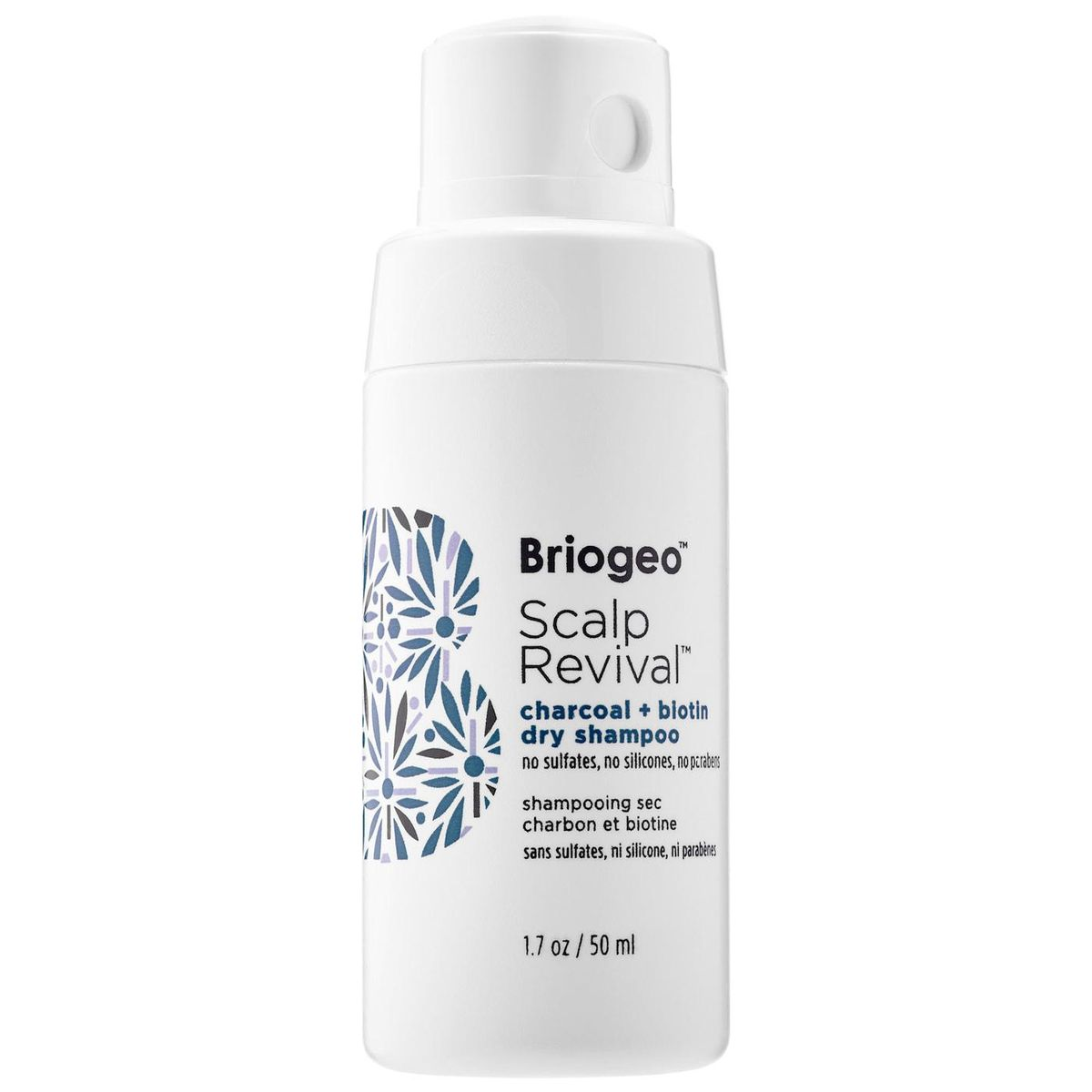 briogeo scalp revival charcoal and  biotin dry shampoo