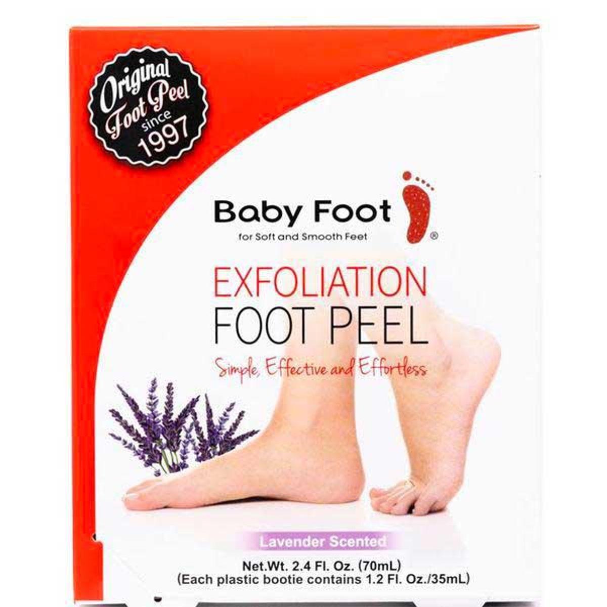baby foot original exfoliation foot peel