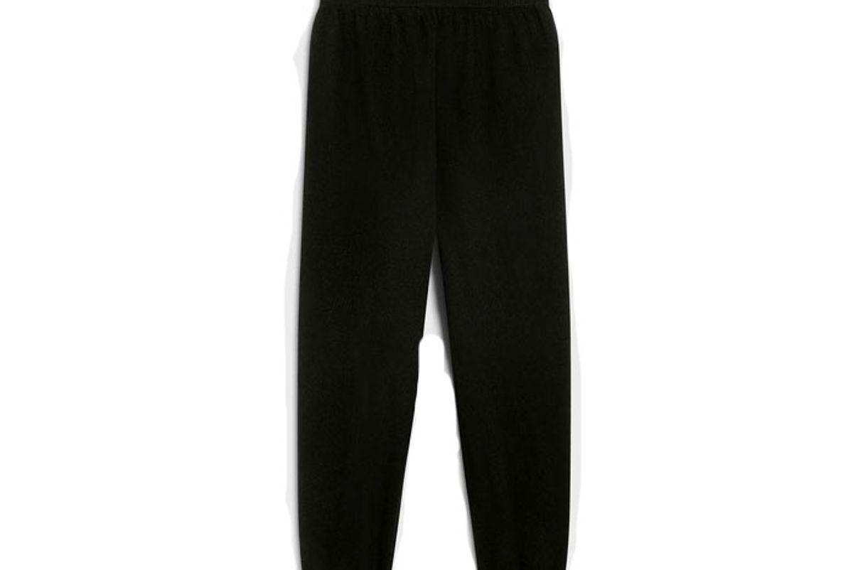 pangaia recycled cashmere track pants