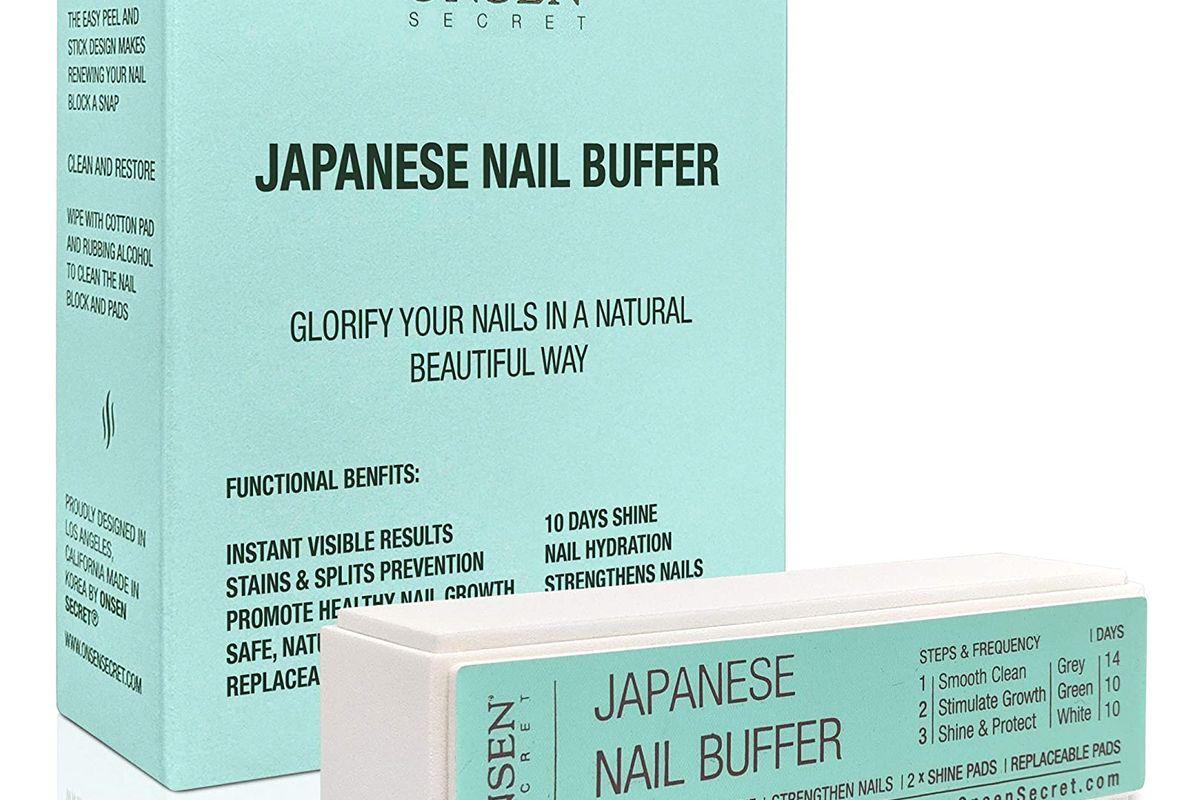 onsen secret nail buffer