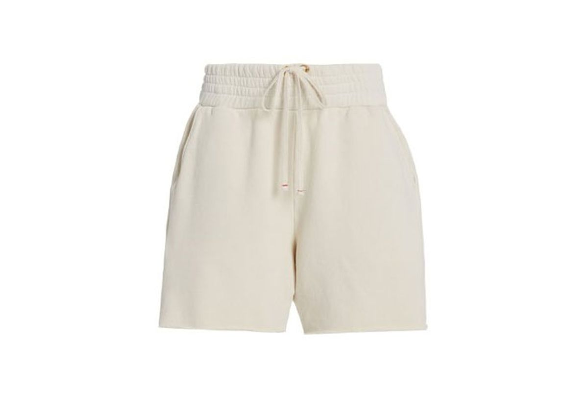 les tien cotton yacht shorts