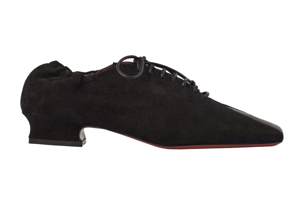 manu atelier xx lace up duck loafers