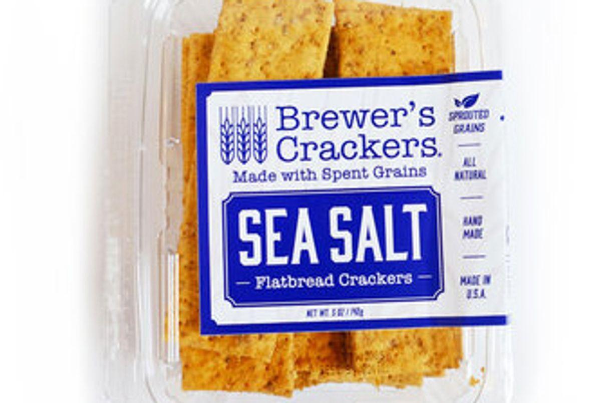 brewers crackers sea salt flatbread crackers