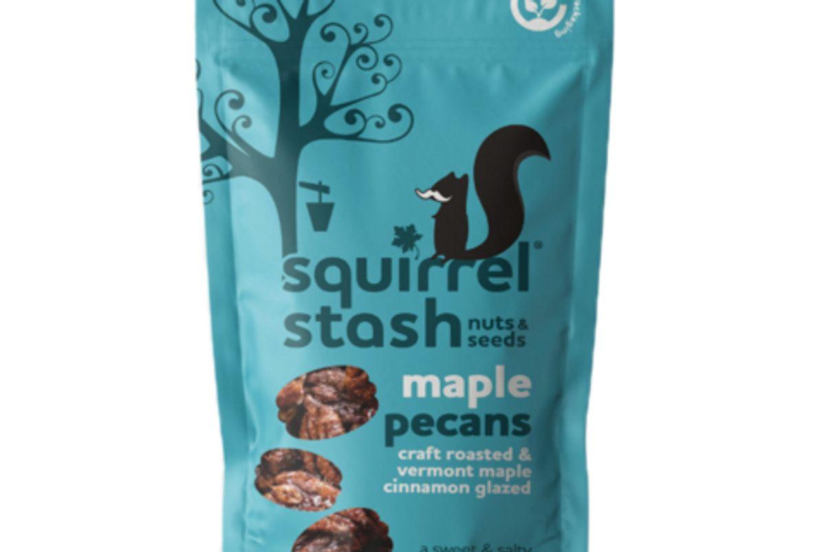 squirrel stash maple pecans