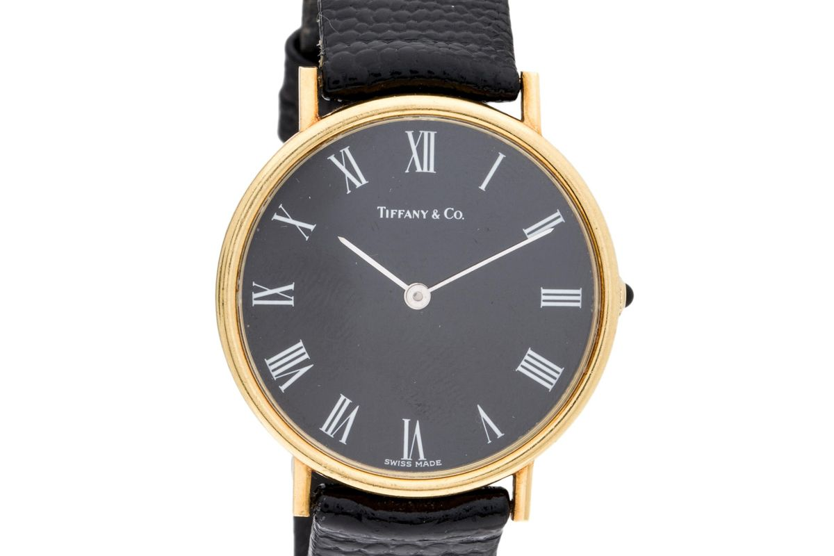 tiffany and co classic watch