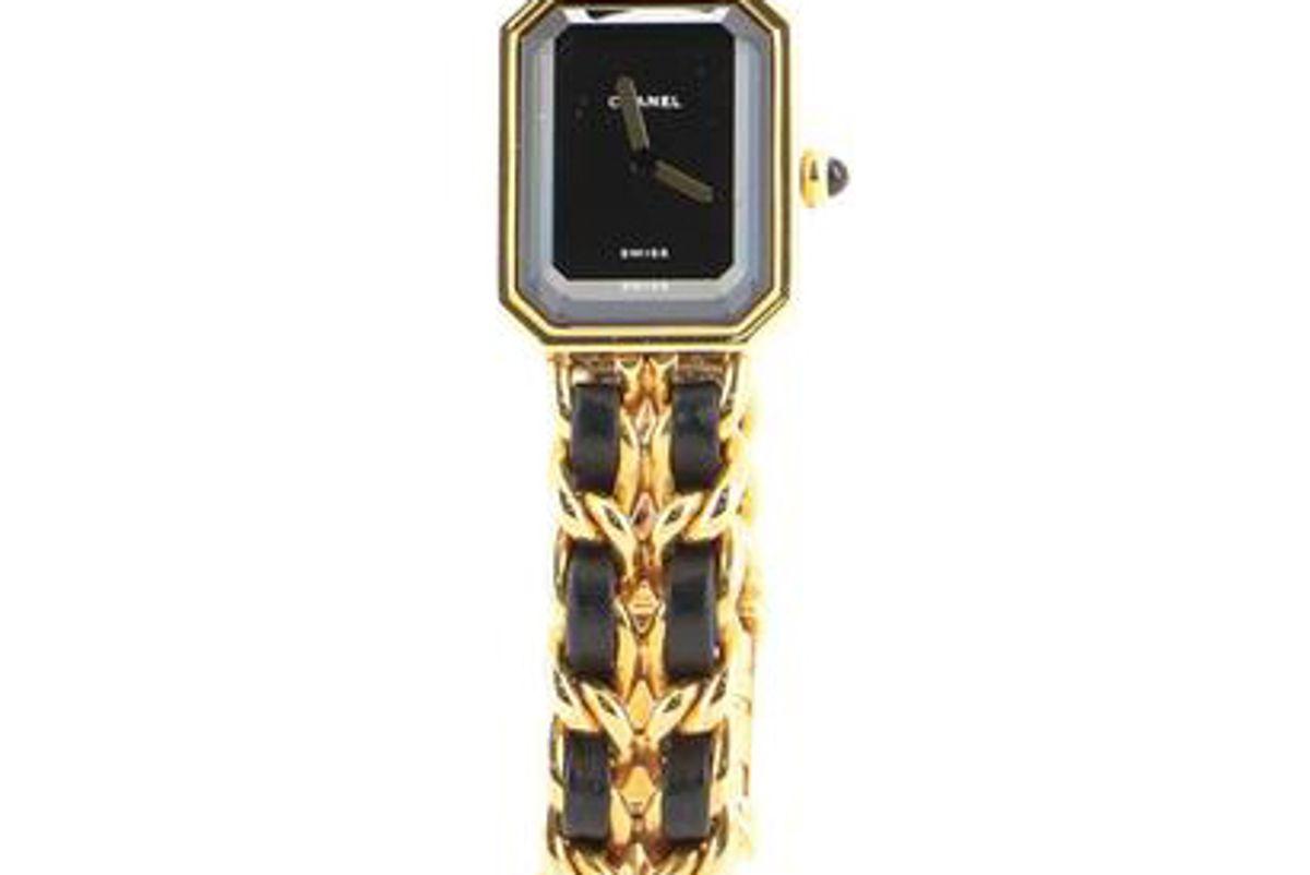 chanel premiere rock quartz watch