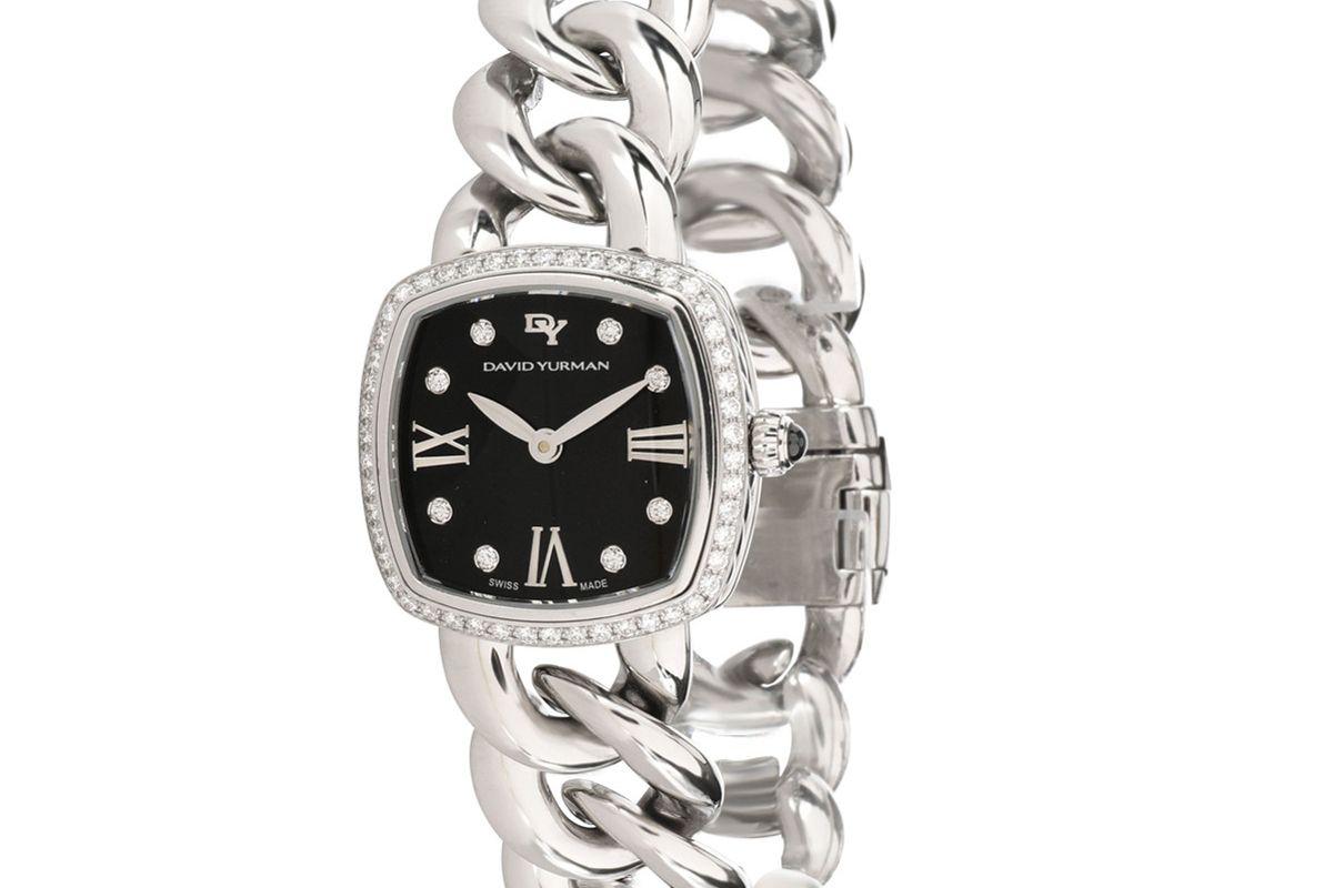 david yurman albion t932-s stainless steel womens watch