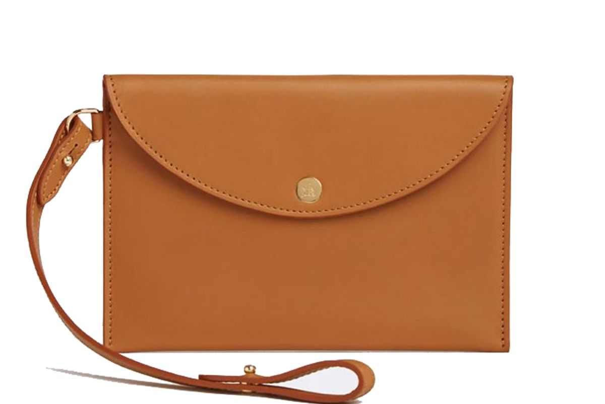 mark cross leather essentials pouch
