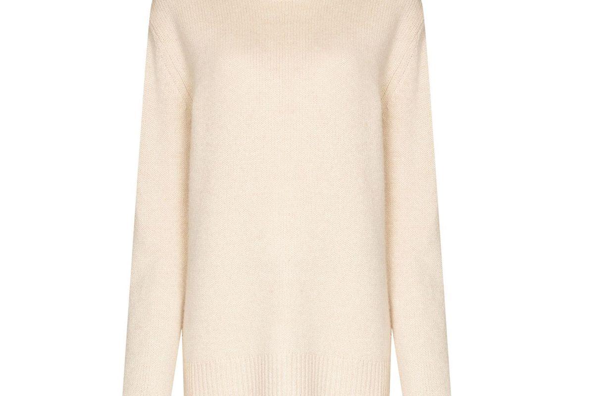 joseph luxe roll neck cashmere jumper