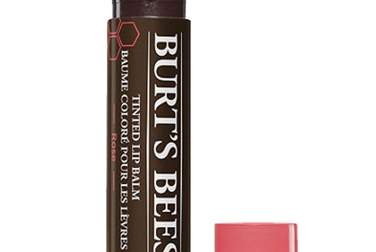 burts bees tinted lip balm
