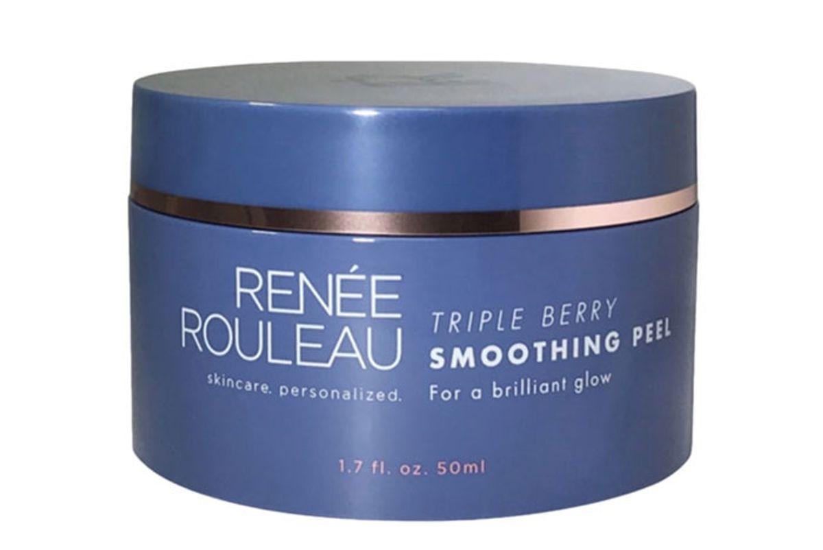 renee rouleau triple berry smoothing peel