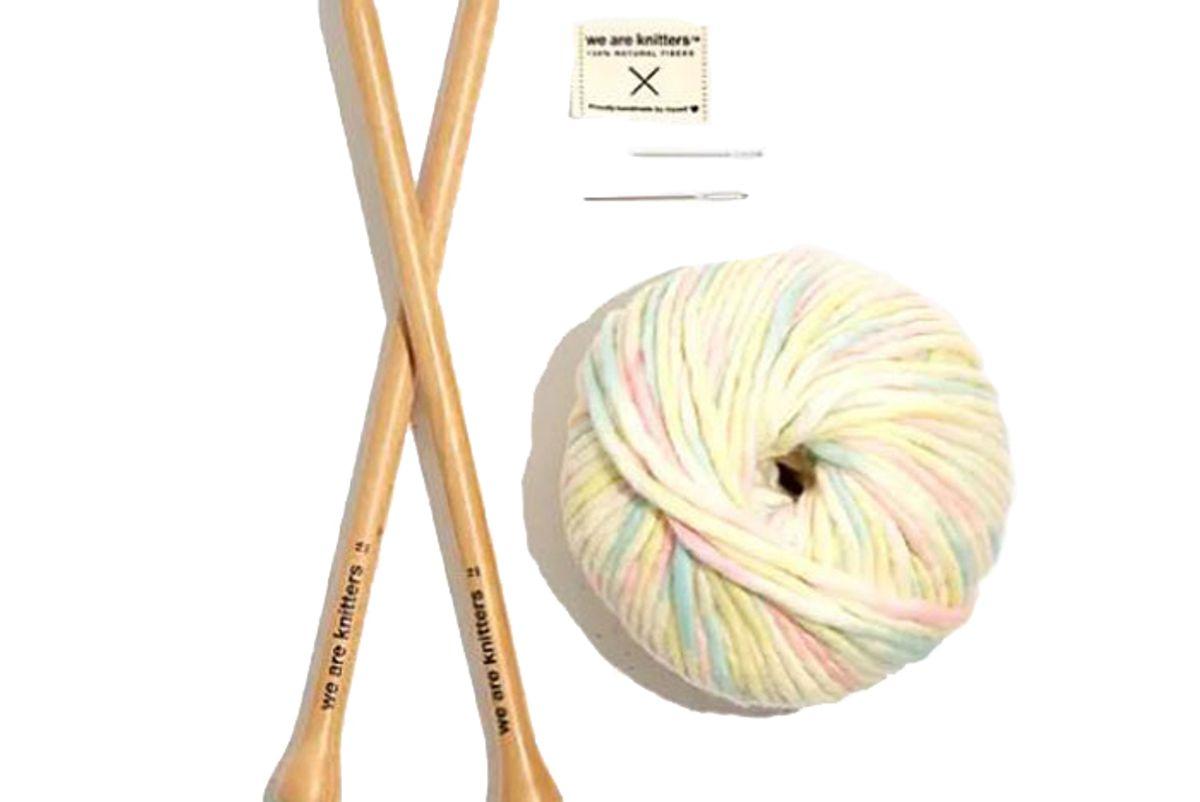 madewell we are knitters beginner dinka scarf kit