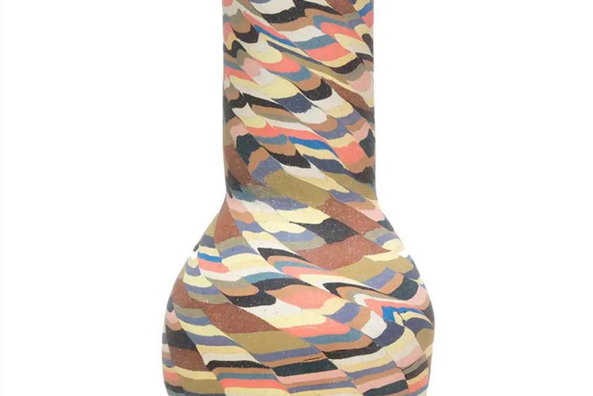 cody hoyt colorful ceramic vase