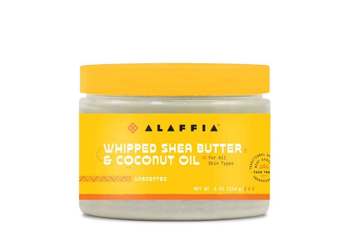alaffia whipped shea butter coconut oil