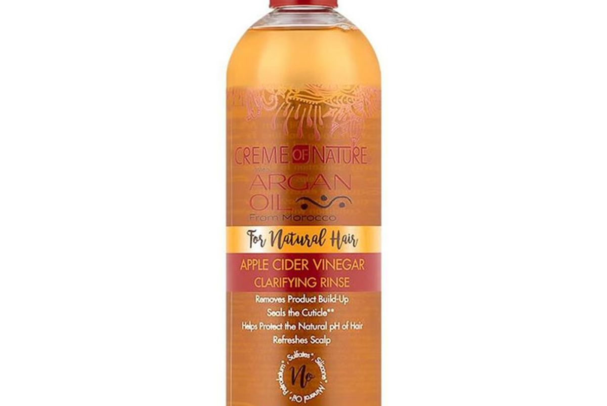creme nature argan oil apple cider vinegar clarifying rinse