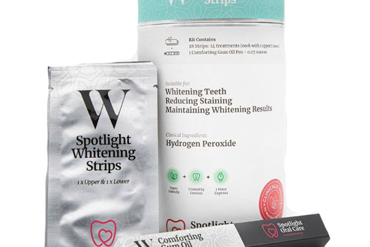 spotlight teeth whitening strips