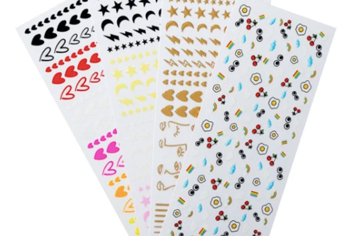 ciate the cheat sheets vol 2 nail art stickers