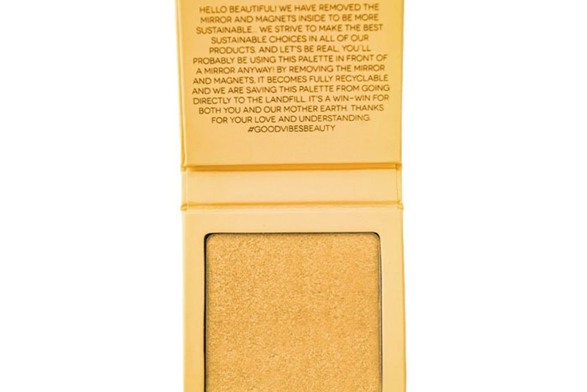 aether beauty supernova crushed yellow diamond highlighter