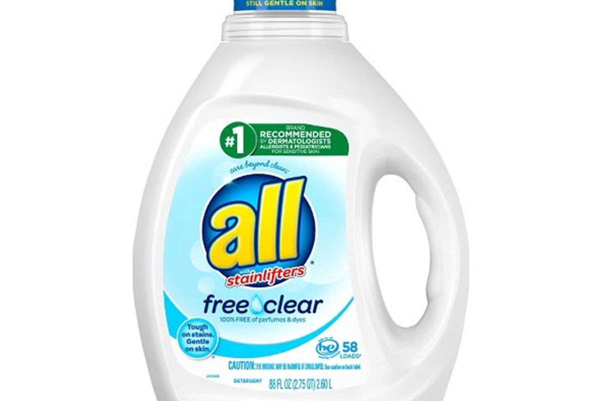 all laundry detergent free clear for sensitive skin