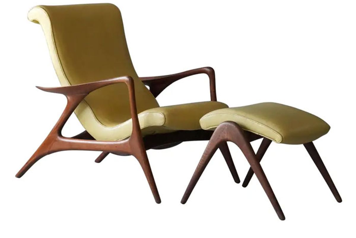 early contour lounge chair