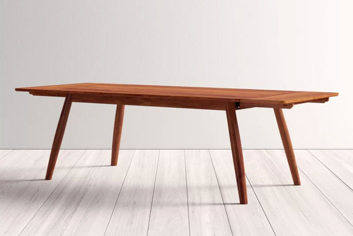 all modern felton solid wood dining table