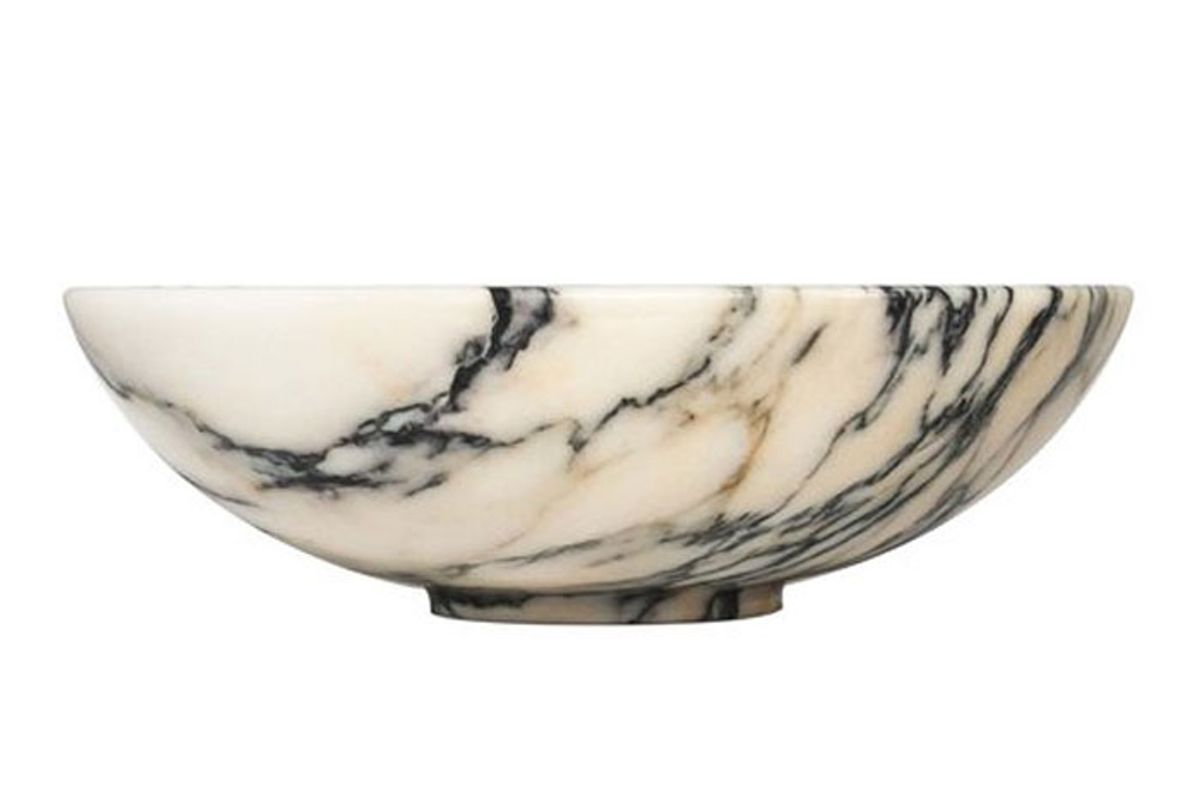 fiammettav home collection paonazzo marble fruit bowl