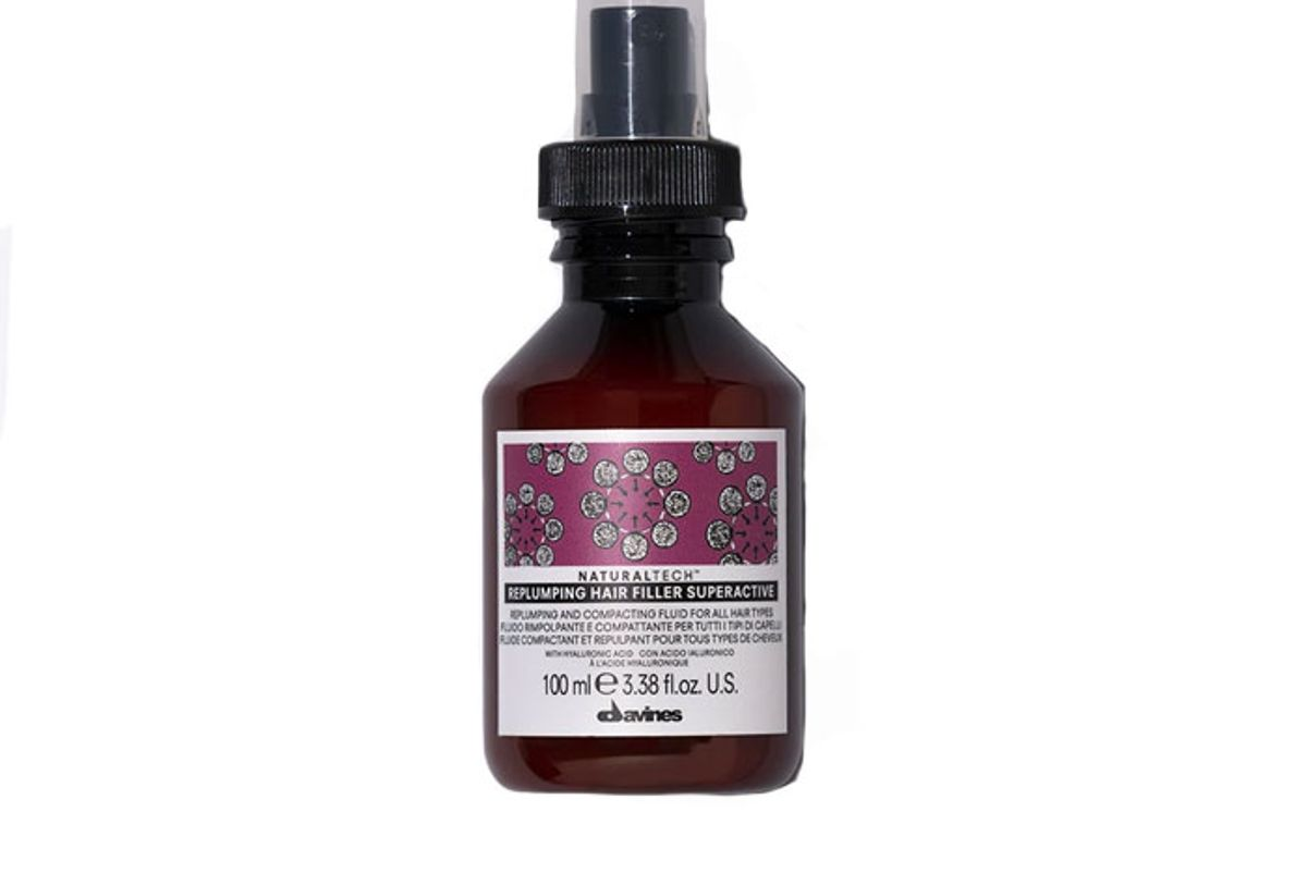 davines replumping hair filler superactive leave in