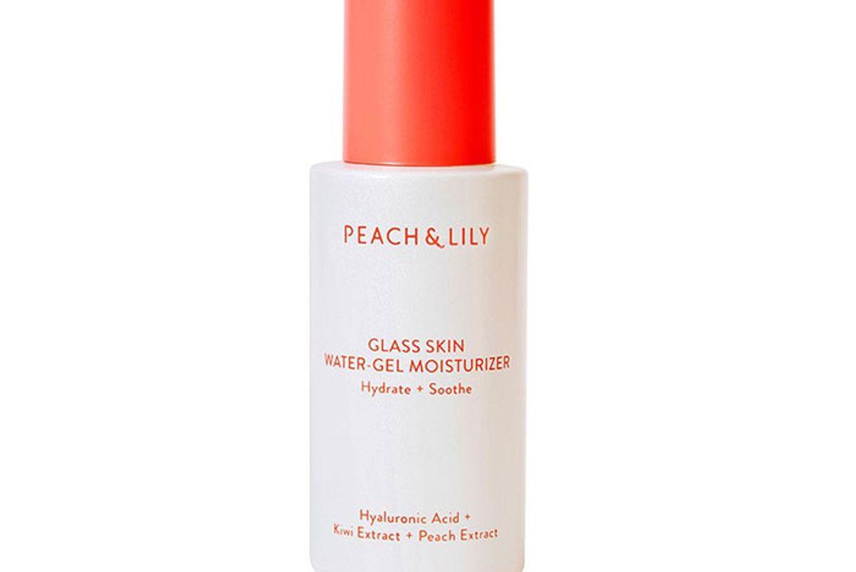 peach lily glass skin water gel moisturizer