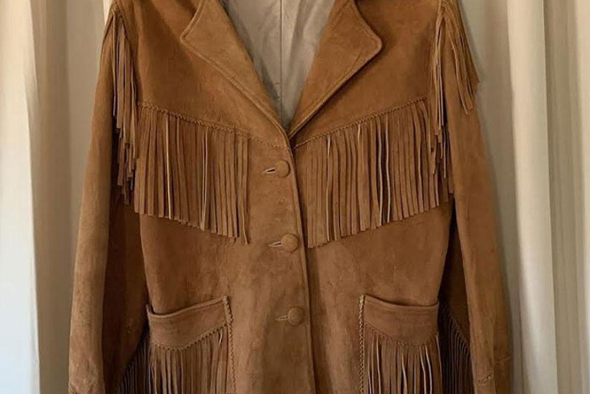true west vintage vintage 1950s suede jacket