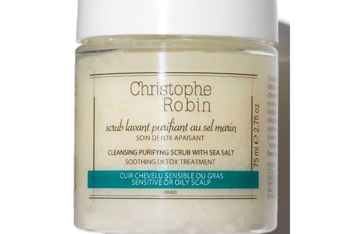 christophe robin cleansing purifying scalp scrub sea salt