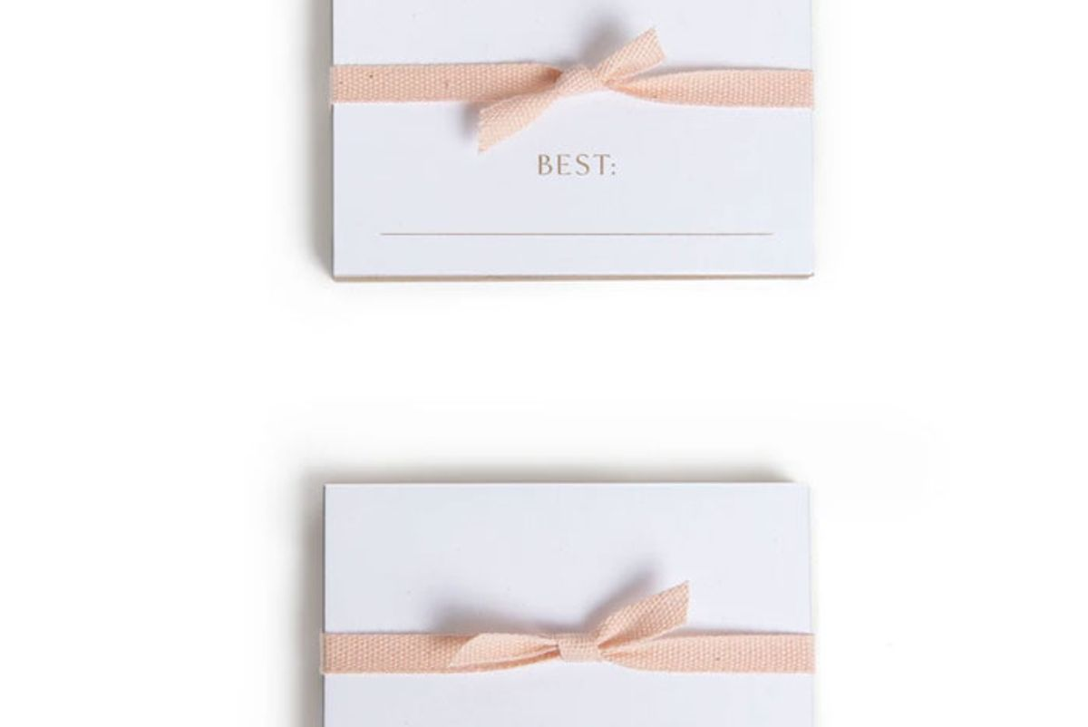 house parties set of 24 superlative place cards