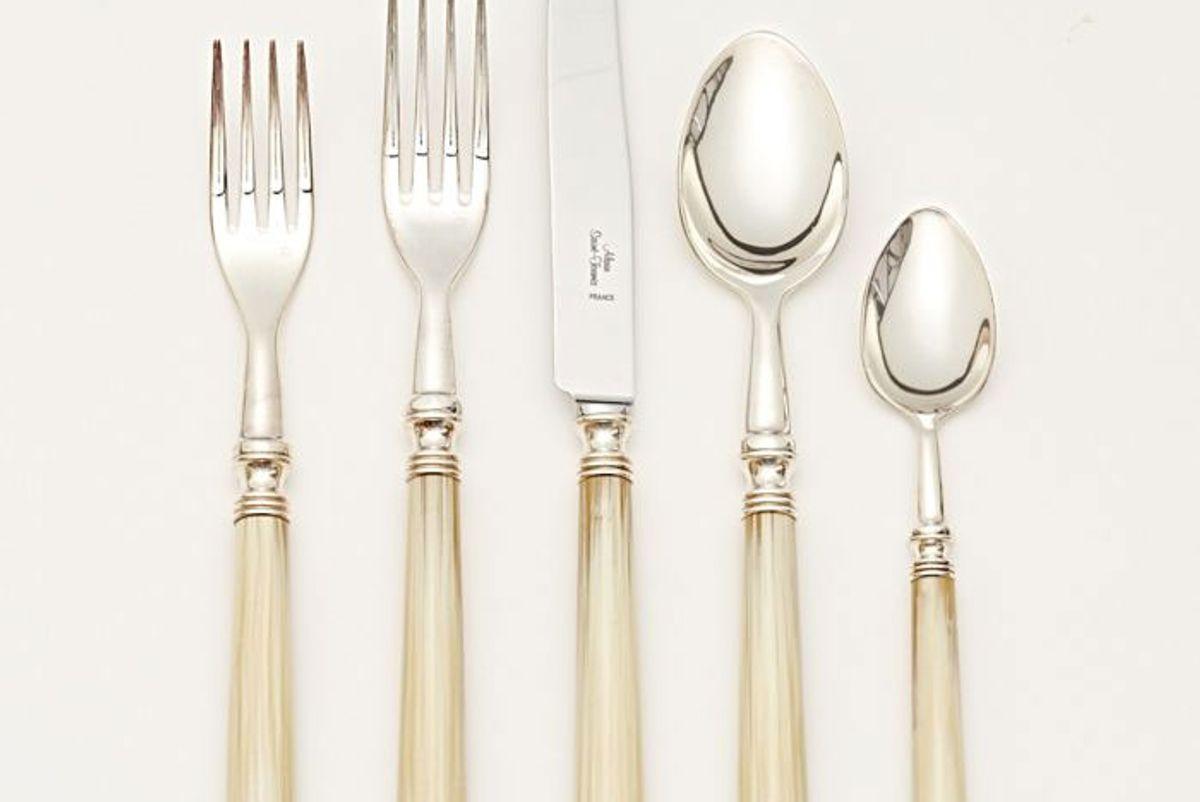 alain saint joanis marbella silver plate flatware