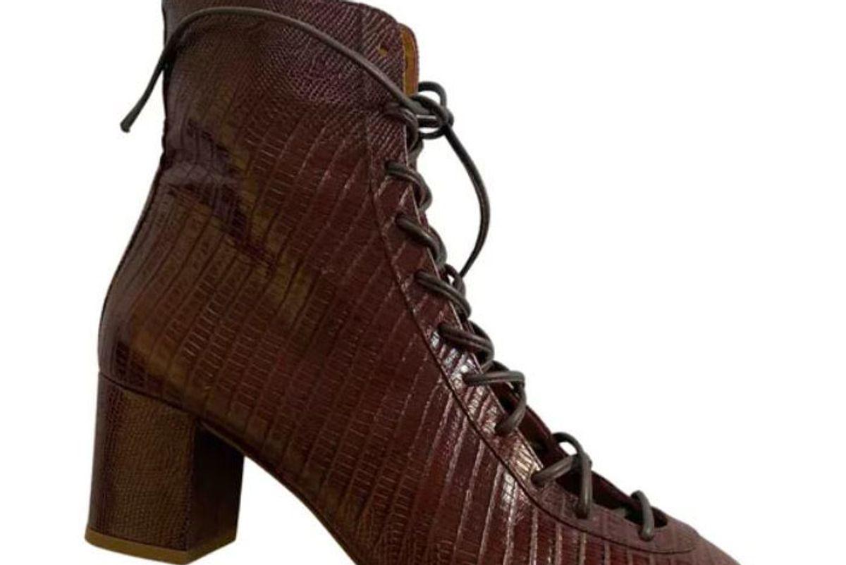 sezane leather boots