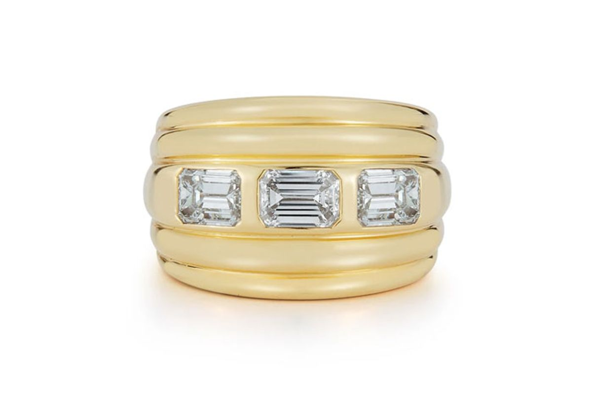 deborah pagani bespoke diamond honey band