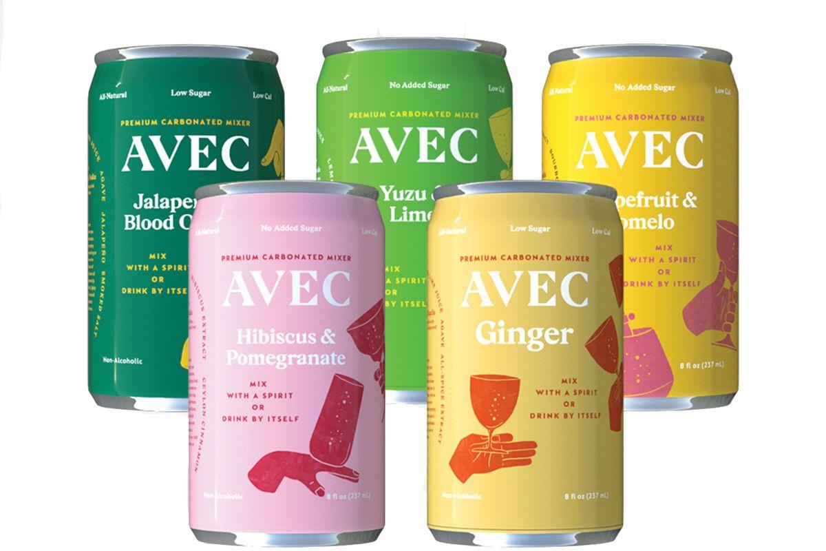 avec drinks the sampler