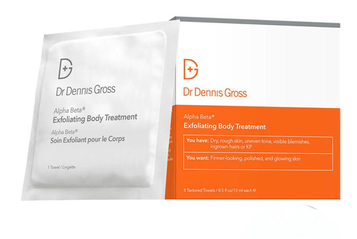 dr dennis gross alpha beta exfoliating body treatment